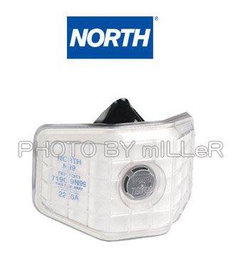 【米勒線上購物】口罩 美國 NORTH N99 可更換濾棉 廣口型防塵口罩 軟質罩杯