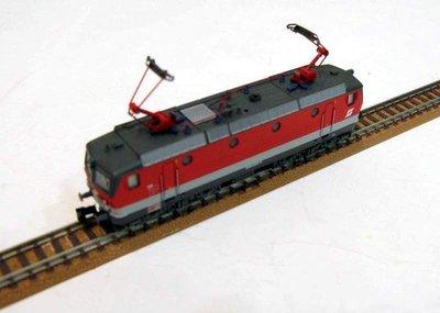 N規,ROCO OBB BR1144 歐式動力車頭 / 集電弓,車輪雙供電