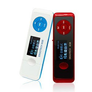 平廣 人因 人因科技 Ergotech UL432 8G 8Gb 紅黑色 藍白色 MP3 隨身聽 保固一年