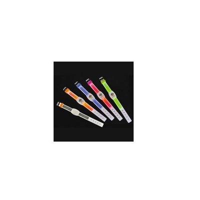 《省您錢購物網》全新~Pansy LED負離子手環(藍//綠)