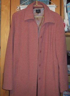 專櫃品牌 bossini 毛料大衣