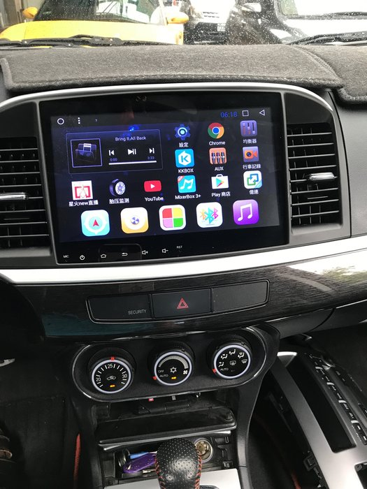 【嘉義.新動力汽車影音】三菱FORTIS專用 10.1吋安卓機