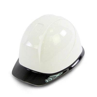 工程頭盔領導建筑工地施工安全帽監理電力白色高強度zzy8204