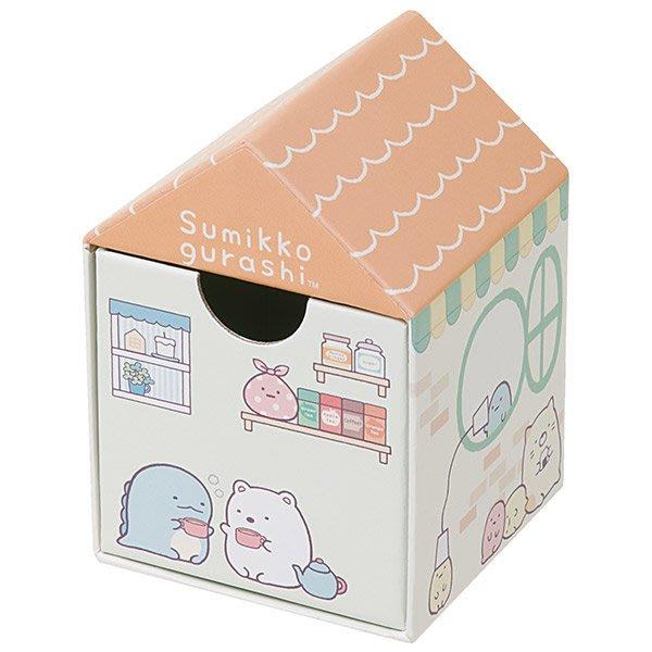 ^燕子部屋 ^ 正版San-X 【 角落公仔】角落房屋造型置物盒  飾品盒  - 粉 (小)