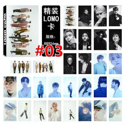 【首爾小情歌】韓國SUPER JUNIOR SJ LOMO 30張卡片 小卡組#03