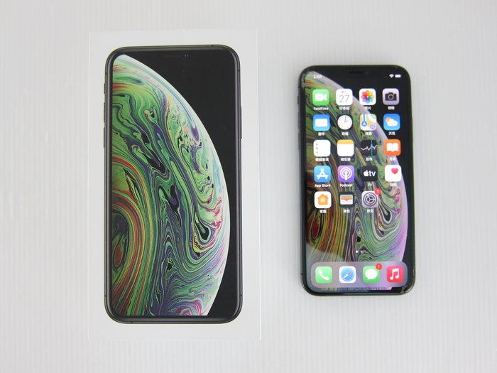 Apple iPhone Xs 256G MT9H2TA/A 螢幕玻璃鏡面破裂*8800元*(A1168)
