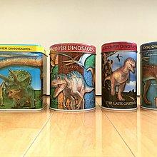 絕版日本 海洋堂 UHA 恐龍 Dinosaur Colorata 鐵罐 Jurassic World Park 侏羅紀 世界 公園