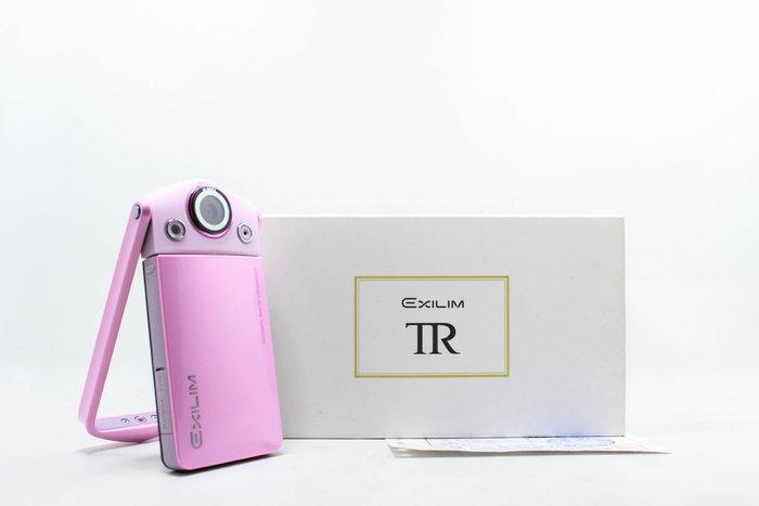 【高雄青蘋果3C】Casio  EXILIM EX-TR35 TR35 粉 美肌相機 自拍神器 公司貨 #23592