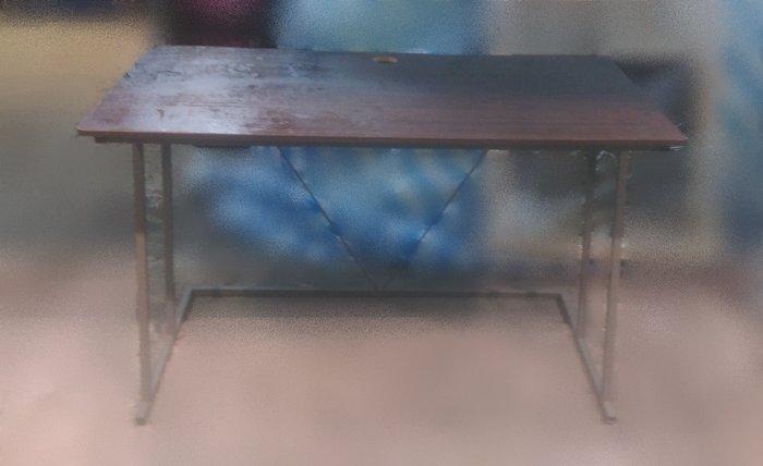 樂居二手家具E0924HJJ胡桃書桌 辦公桌 電腦桌 會議桌 OA桌 洽談桌 辦公室傢俱【全新中古傢俱家電賣場】