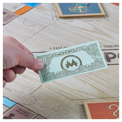 [美國實木版]Monopoly-Rustic Series Board Game