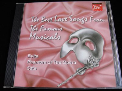 【198樂坊】THE BEST LOVE SONGS FROM THE FAMOUS MUSICALS(歌劇魅影.)DE