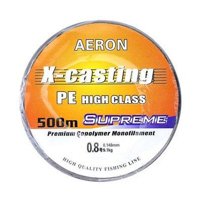 { 樂釣 } X-casting  PE線 500M  [33011]