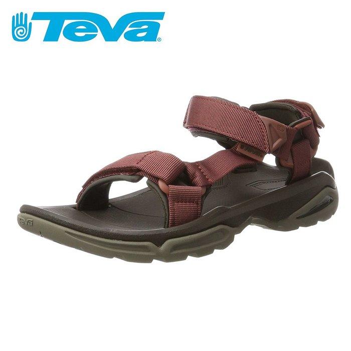 《BEST SPORTS倍斯特體育》TEVA Terra Fi 4 男 水陸涼鞋 磚紅 TV1004485RDWD