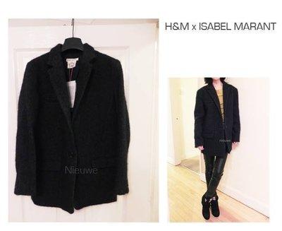 現貨在英 H&M x Isabel Marant oversize 深灰boyish外套