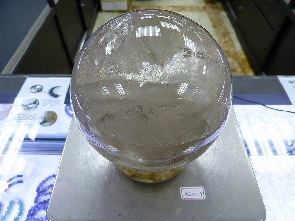 ☆寶峻鹽燈☆特價品出清~實品拍攝 白水晶球 GBS-19