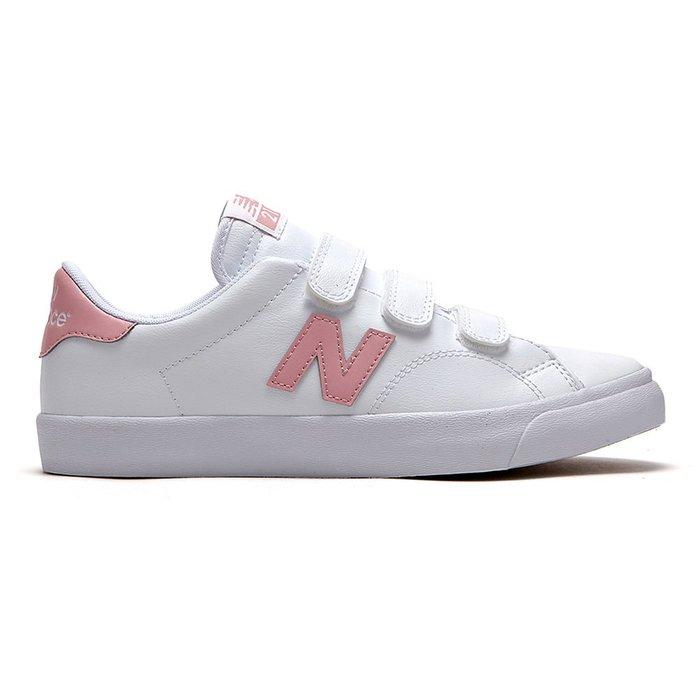 【Luxury】韓國限定 New Balance 210 皮革 魔鬼氈 休閒鞋 AM210VPL 白粉 粉紅 韓系 皮質