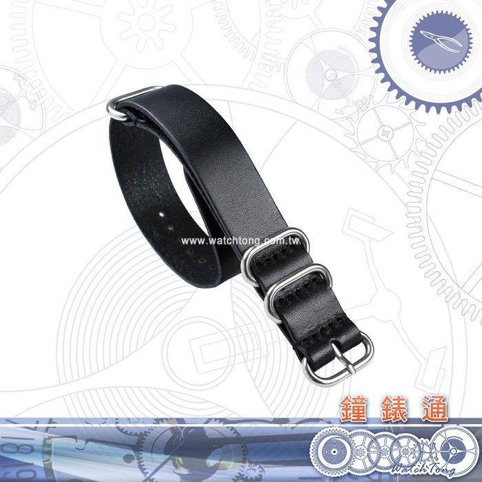 【鐘錶通】18mm/20mm/22mm 真皮Zulu錶帶 / 牛皮錶帶 / NATO / DW├手錶錶帶/DIY錶帶更換