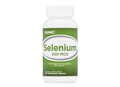 Gnc Selenium 天然有機硒 200 mcg 200顆