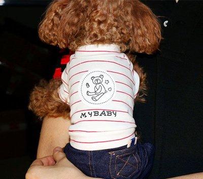 狗狗衣服春夏透氣薄款寵物衣服泰迪衣服貴賓比熊雪納瑞寵物四腳衣