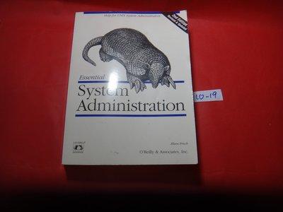 【愛悅二手書坊 10-19】Essential System Administration