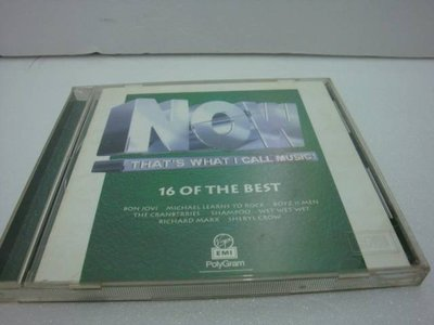 【銅板交易】二手原版CD-早期收藏 CD ~NOW THAT'S WHAT I CALL MUSIC ~1995 EMI