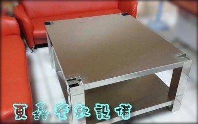 ~~東鑫餐飲設備~~ 全新 正304材質桌子 / 休閒桌 / 不鏽鋼桌 / 正白鐵桌 / 萬用桌