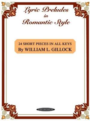 【599免運費】Lyric Preludes in Romantic Style  Alfred 00-0649