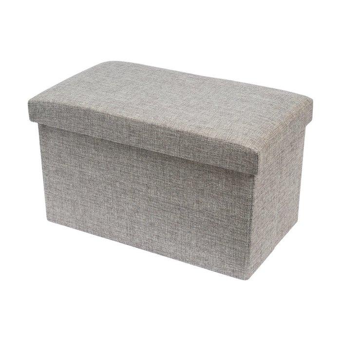 TRENY 加厚折疊收納凳 收納椅 荷重80kg 40X23X23CM