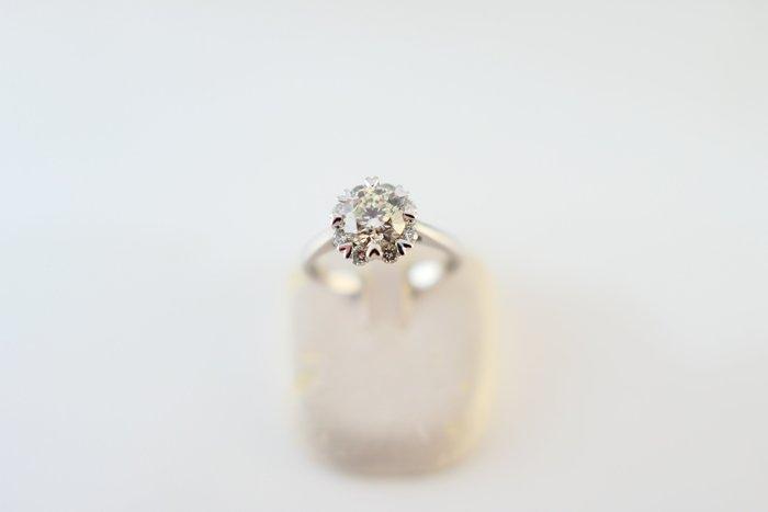 [吉宏精品交流中心]SOPHIA 蘇菲亞 1.00克拉 天然鑽石 白K金 八心八箭 造型 戒指 女戒(附證書)