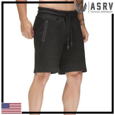 ►瘋狂金剛◄ 黑 ASRV Performance Fleece Short 吸濕排汗耐用彈性短褲