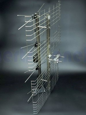 現貨供應 NPE 4DXBS 全白鐵天線 UHF 4D數位天線 反射波天線 不需插電 不生鏽 高畫質 免費頻道 透天別墅