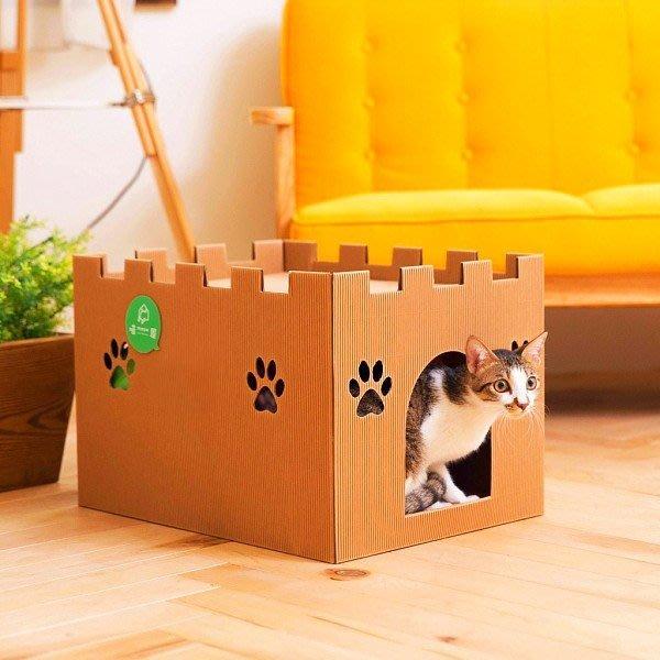 寵物用品 /  喵屋【城堡喵屋】貓貓也要睡城堡免運  戀家小舖XDD999