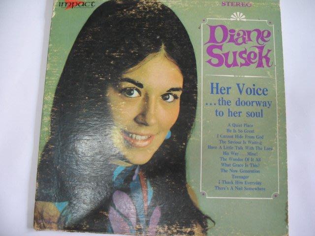 DIANE SUSEK - 1987年 黑膠唱片 進口版 - 301元起標                 黑膠93