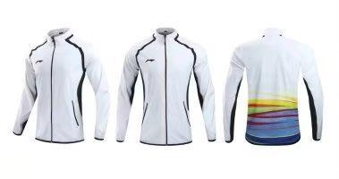 2017 年全新 LI NING 李寧 羽球套裝 林丹王者二代 男 女 童版 套裝 白色 黑色  型號 219
