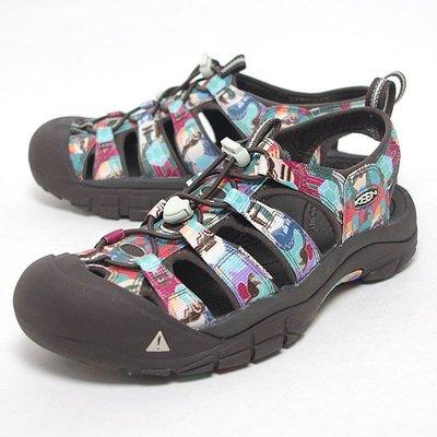 KEEN Newport H2 Galapagos 1014810日本限定黑彩色溯溪運動登山健走水陸兩用沙灘護趾休閒涼鞋