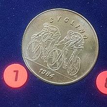 ☆承妘屋☆1984年美國洛杉磯奧林匹克運動會奧運紀念章 ~ZAB.自行車.7