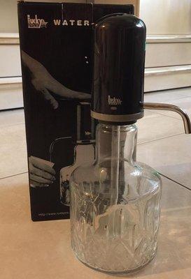 果醬小舖&.Lucky star氣壓冷水壺涼水杯果汁玻璃壓水壺手壓式飲水器請先詢問貨