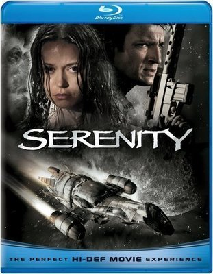 BD 全新美版【衝出寧靜號】【Serenity】Blu-ray 藍光