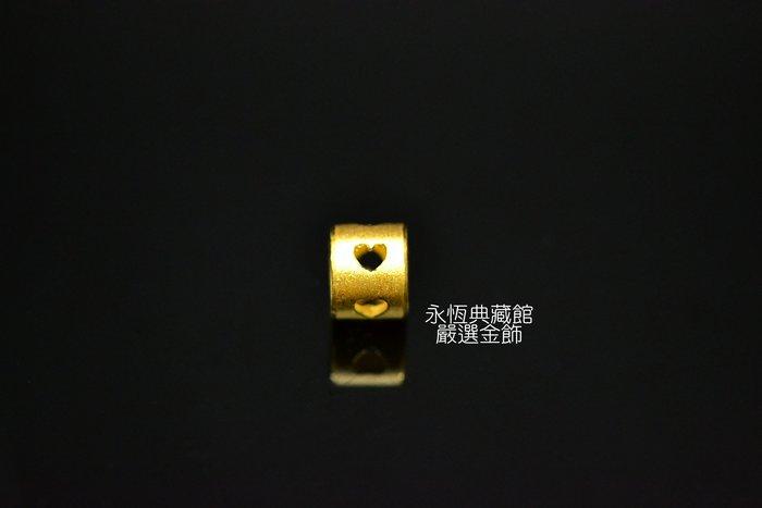 【永恆典藏館】J'code真愛密碼【心連心金串珠-小】兼具質感和保值的首選 蠟線綁線金飾串珠DIY