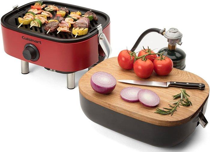 【樂活先知】『代購』美國  Cuisinart 美膳雅  CGG-750  攜帶型瓦斯燒烤爐