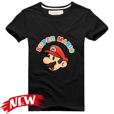【超級瑪莉 Super Mario Bros.】短袖經典遊戲主題T恤(54種款式可選) 任選4件以上每件400元免運費!