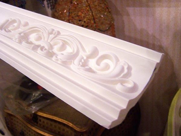 圖一 390-1 促銷線板特價每支$390 可搭配貼壁式立體PU浮雕 角線板 DIY 內角 專用 每個@$500 /個
