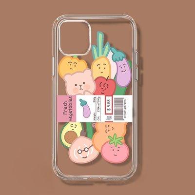 Tactile`ins卡通適用蘋果12OPPO華為小米11pro榮耀vivos9一加78透明手機殼