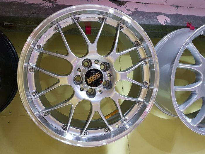 五股翔美 正BBS 鋁圈 18吋 8J ET40 8.5J ET43 5X114.3 前後配 BBS 鍛造鋁圈 輪胎