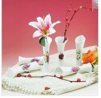 INPHIC-小花插花瓶 餐桌小擺飾 陶瓷工藝品小花瓶_NVU003194A
