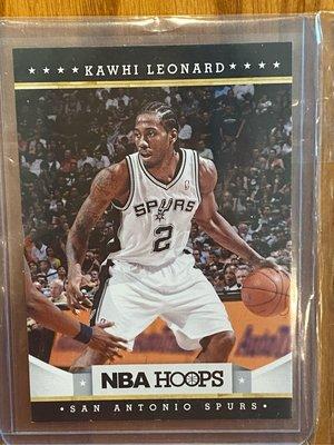 可愛 Kawhi Leonard 2012-13 NBA Hoops 球員卡 RC 新人卡 新人 Rookie 馬刺 球卡 籃球卡