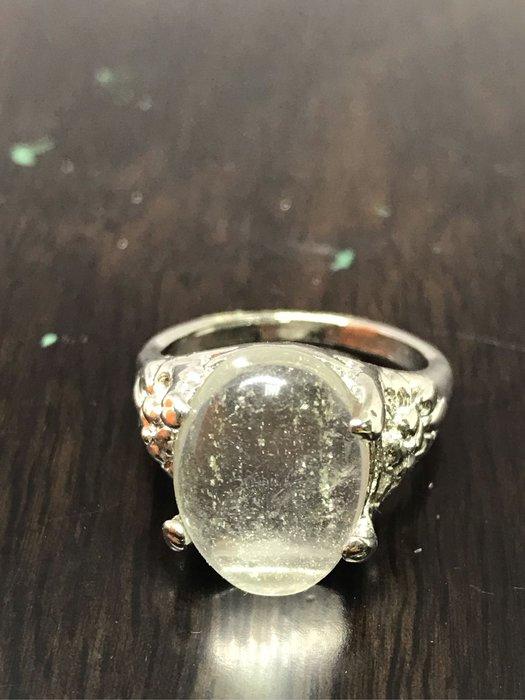 [晶藝坊]天然水晶戒(19mm)50