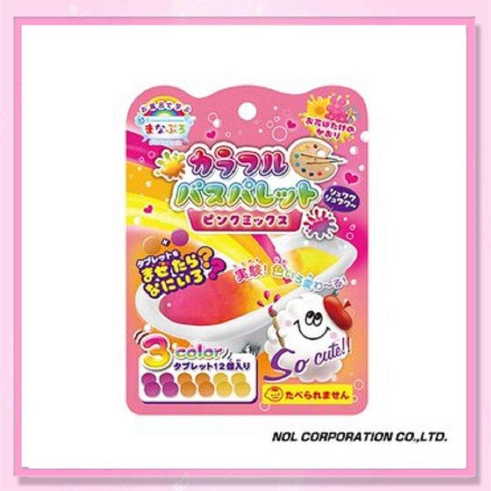 <益嬰房>唯可 日本NOL-趣味調色盤入浴錠(粉紅)(花香)