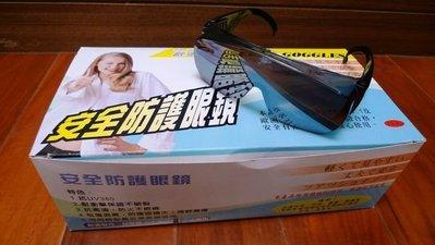 附發票*東北五金*正台灣製OPO 歐堡牌 工作護目鏡 防塵眼鏡 防護眼鏡 焊接工程專用水銀色!