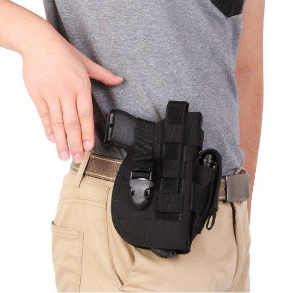 JHS((金和勝 槍店) 通用型 戰術腰間 手槍套 9846